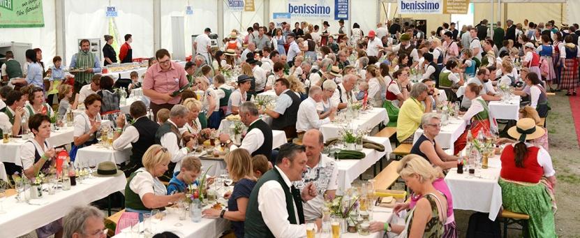 Beim 49. Narzissenfest am 3. Juni 2018 wurden hunderte VIP-Gäste und Corso-TeilnehmerInnen von der Benissimo-Buffet·Catering GmbH. bewirtet.